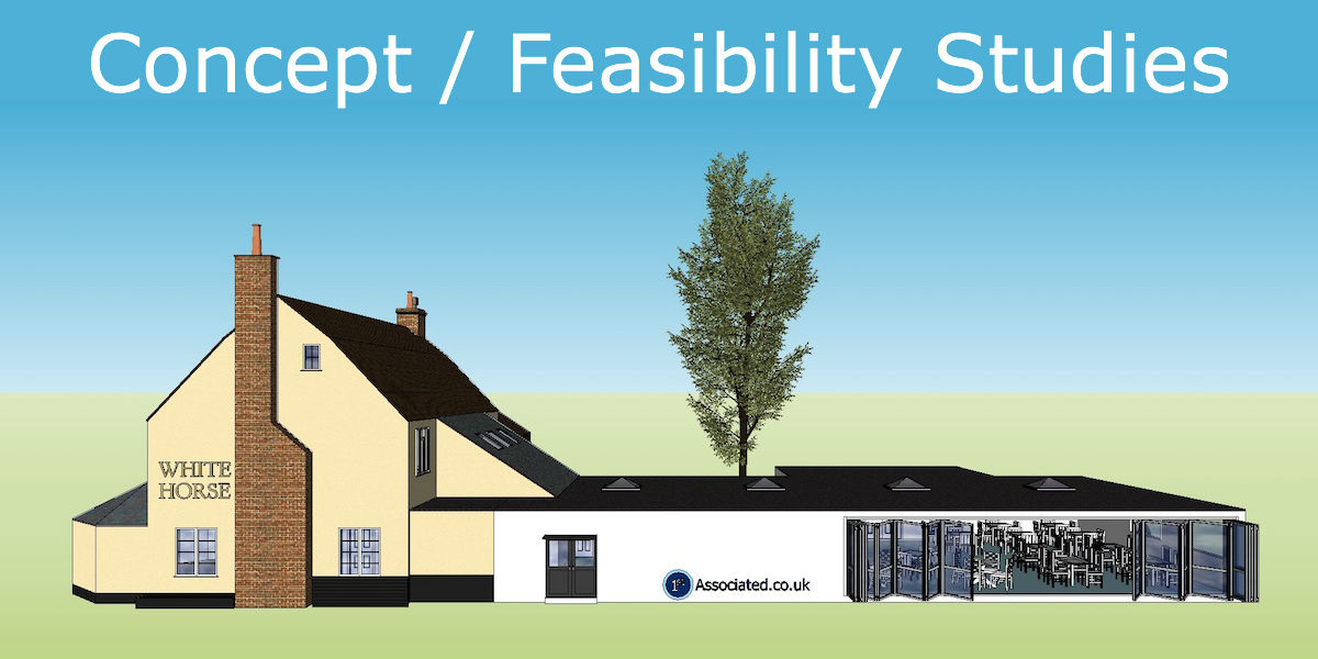 feasibility study of commercial building