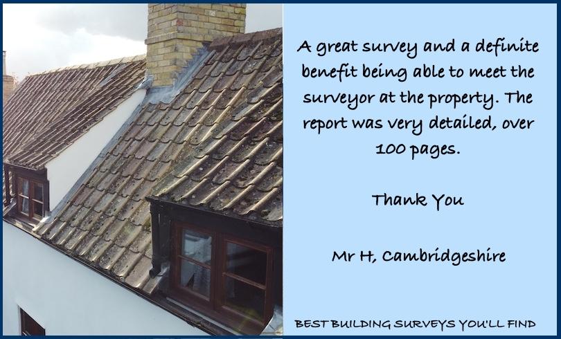 Cambridgeshire Building Survey Review