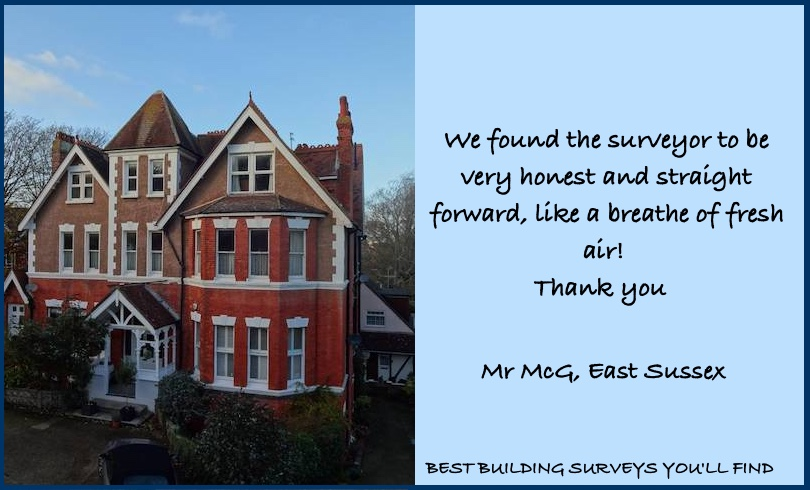 East Sussex Building Survey Testimonial