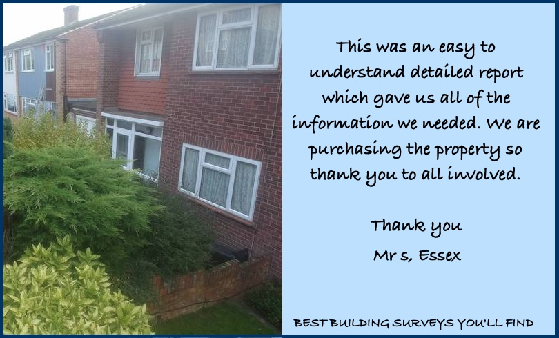 Essex Building Survey Testimonial