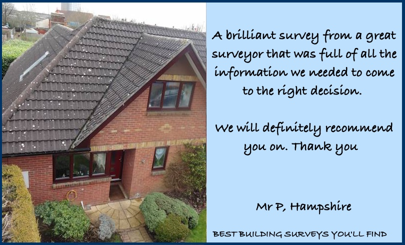 Hampshire Building Survey Testimonial