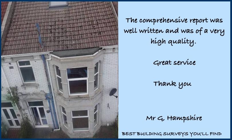 Hampshire Building Surveyor Testimonial