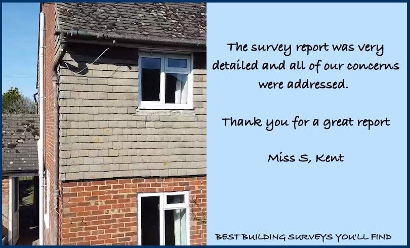 Kent Testimonial building survey