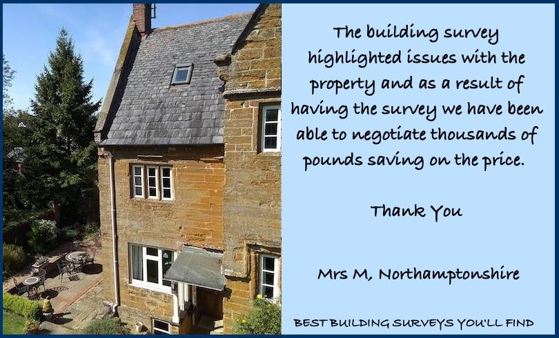 Northants Building Surveyor Testimonial