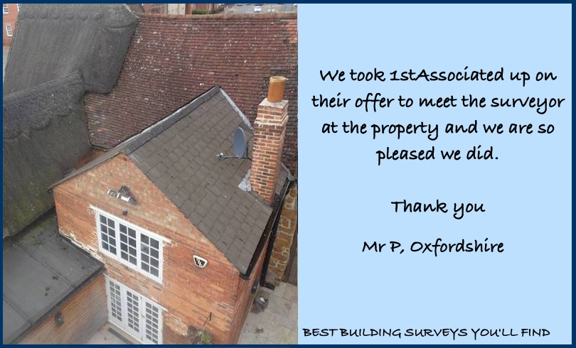Oxfordshire Building Survey Testimonial