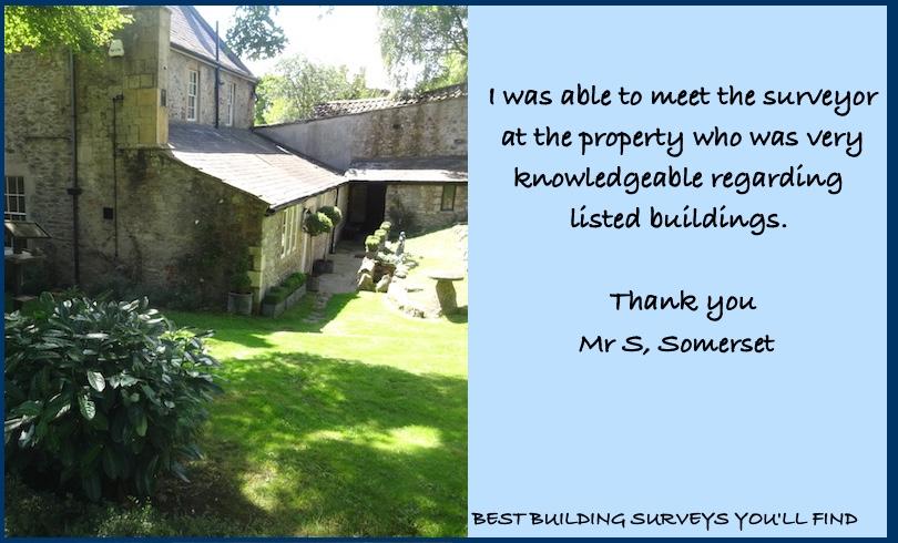 Somerset Building Surveyor Testimonial
