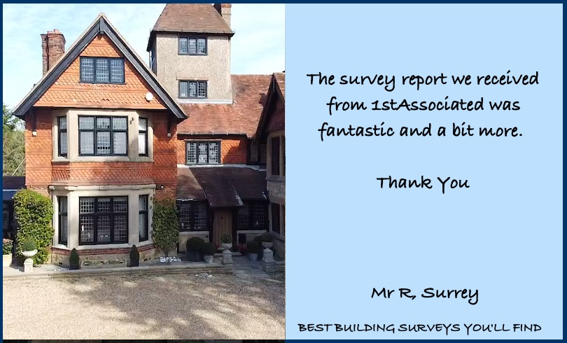 Surrey Building Survey Testimonial