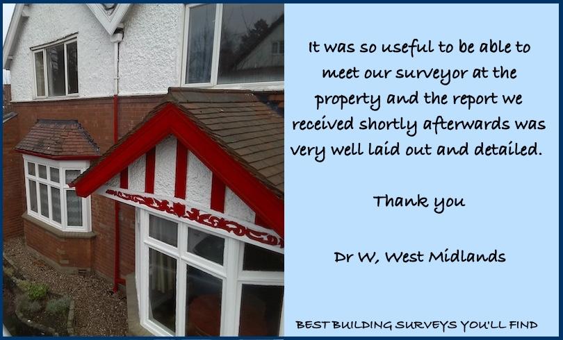 West Midlands Building Survey review