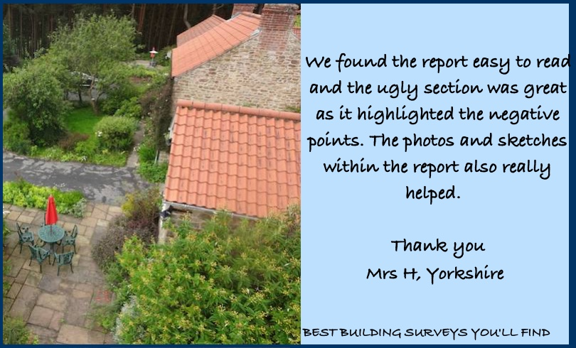 Yorkshire Building Survey Testimonial