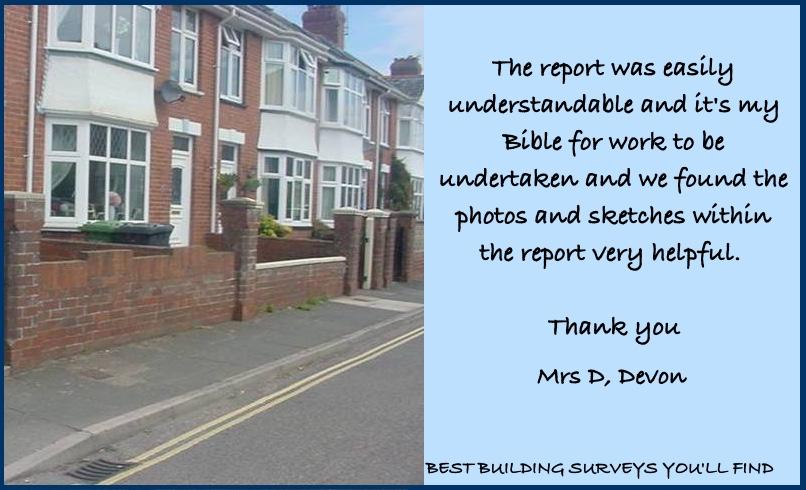 Devon Building Survey Testimonial