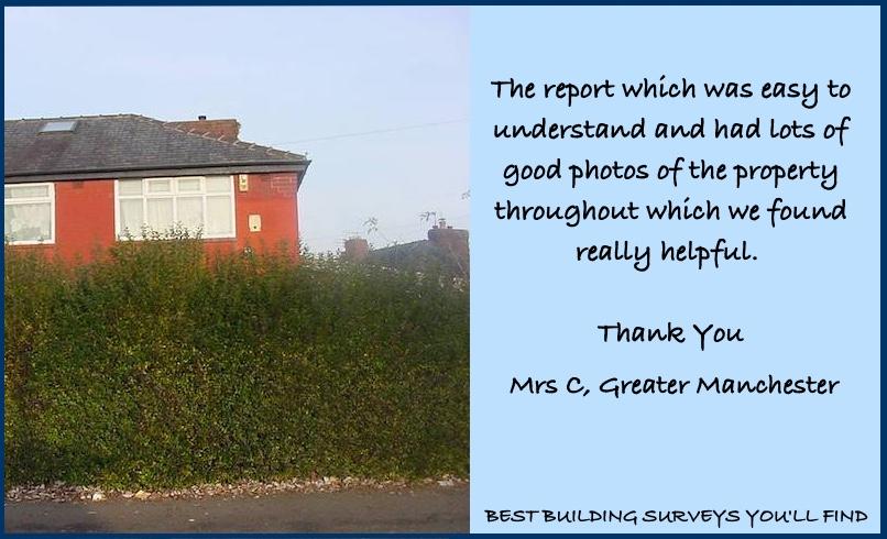 Manchester Building Survey Testimonial