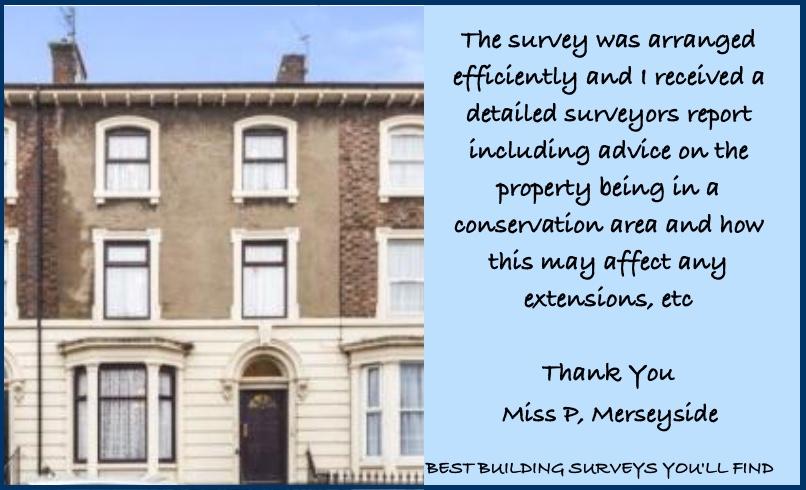 Merseyside Building Survey Testimonial