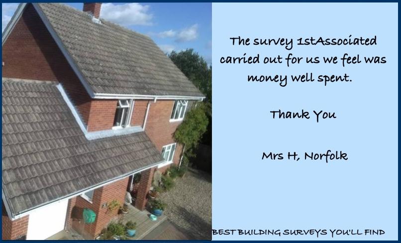Norfolk Building Surveyor Testimonial