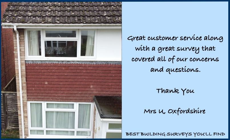 Oxfordshire Surveyor Testimonial